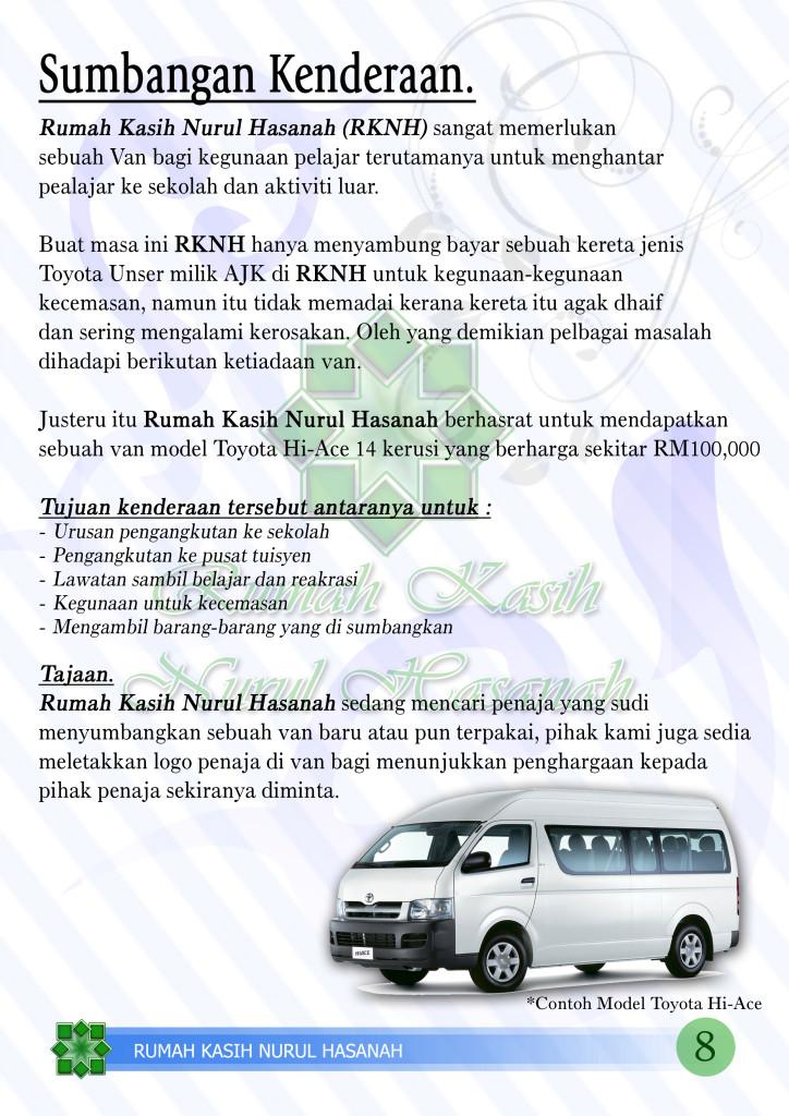 8 Profile RKNH Kenderaan